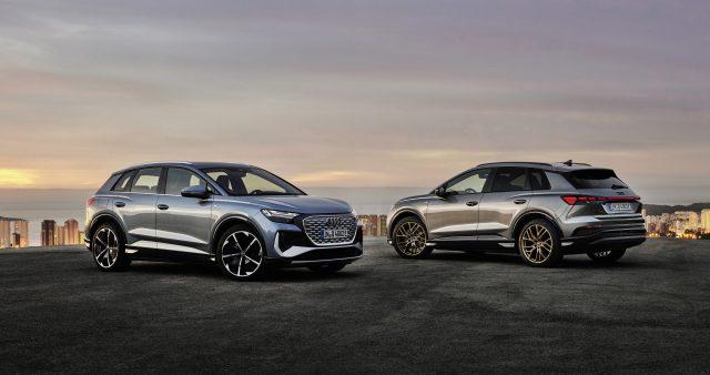 Audi reveals new Q4 e-tron pure-electric SUVs