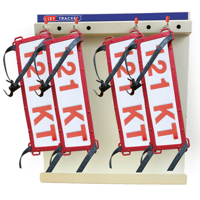 Keytracker trade plates
