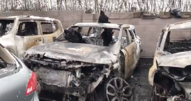Man jailed for two years for arson attack at car dealership that caused £100,000 of damage