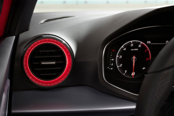 Seat Ibiza illuminated air vents