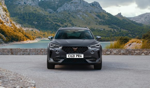 Front view of Cupra Formentor