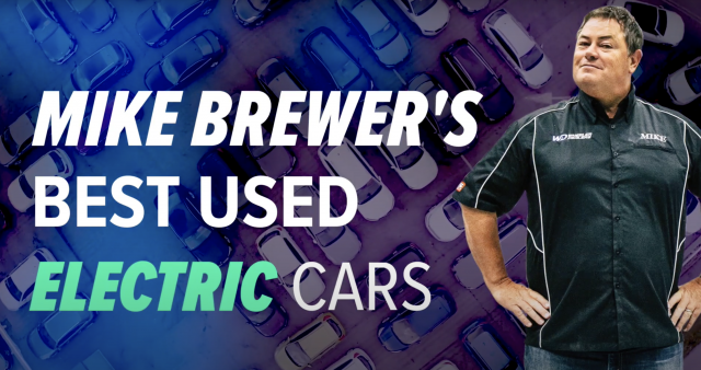 Best used electric cars – Mr Wheeler Dealer Mike Brewer picks the best on sale right now